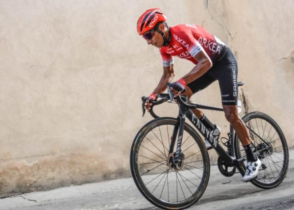 Nairo Quintana fue el mejor colombiano en la etapa 1 de la Vuelta a Cataluña.