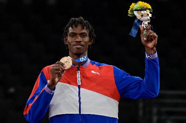 Rafael Alba Castillo, en los Juegos Olímpicos