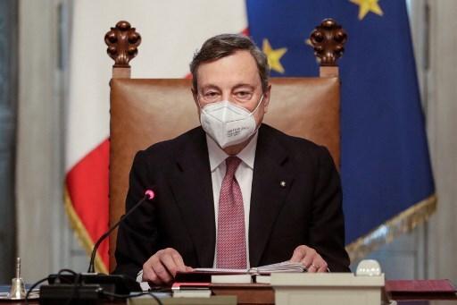 Mario Draghi se posesionó como nuevo primer ministro de Italia