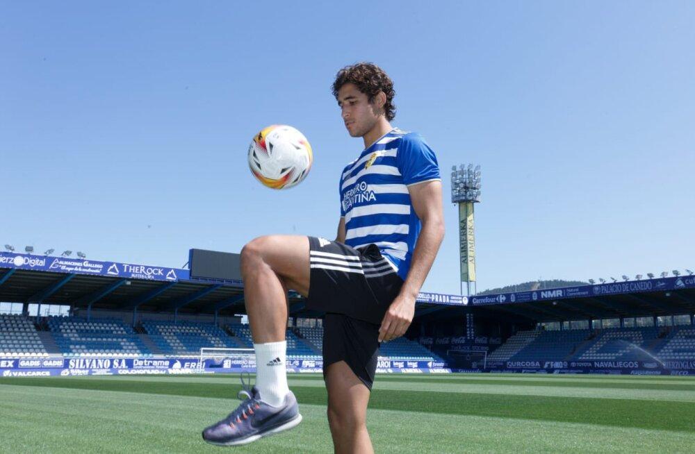 Juan Camilo Becerra, jugador colombiano del Ponferradina. @SDP_1992.jpg