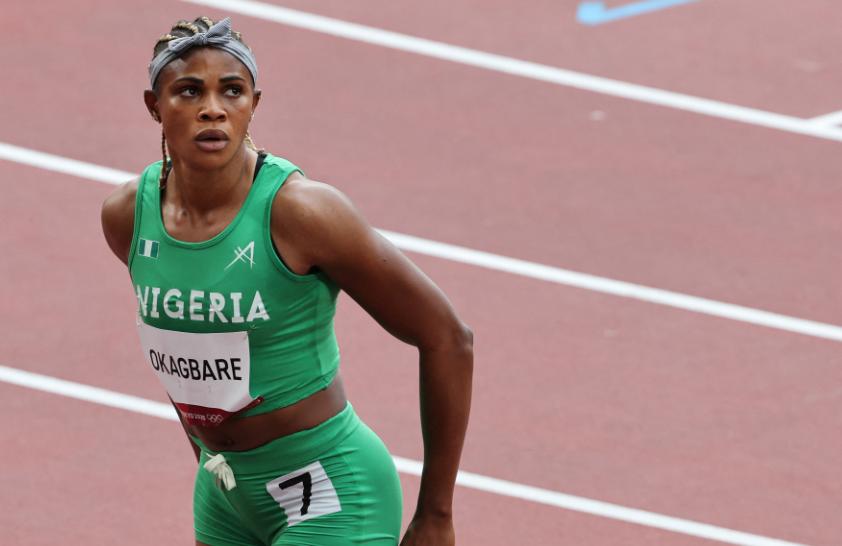 Blessing Okagbare fue suspendida y no podrá seguir compitiendo en los Juegos Olímpicos de Tokio 2020