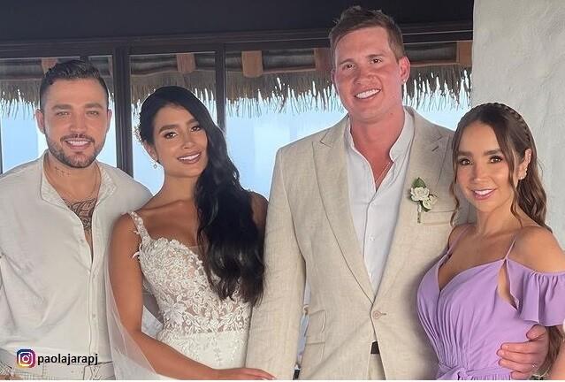 Matrimonio de hermana de Paola Jara.