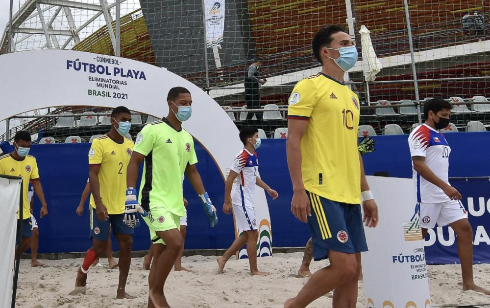 Selección Colombia Playa