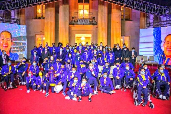 Atletas Paralímpicos de la delegación colombiana