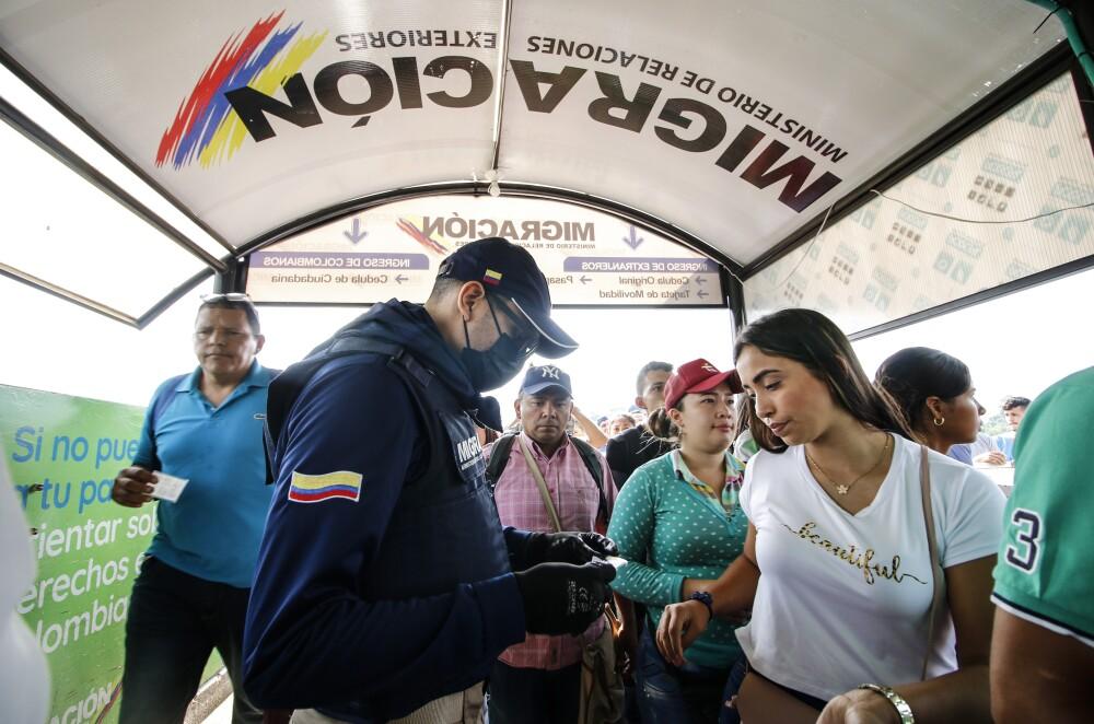357228_BLU Radio // Coronavirus_Migración Colombia // Foto: Referencia AFP