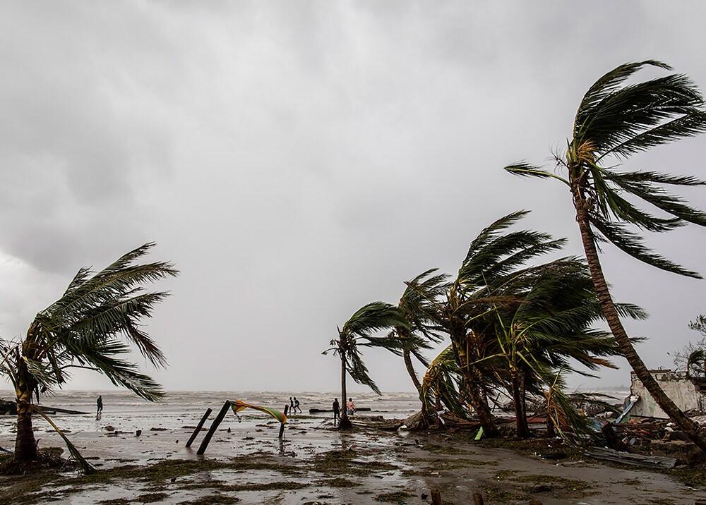 Devastación de la tormenta Iota en Nicaragua