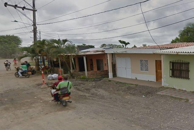 Sector de Playa Dulce en Turbo, Antioquia / Google Maps.