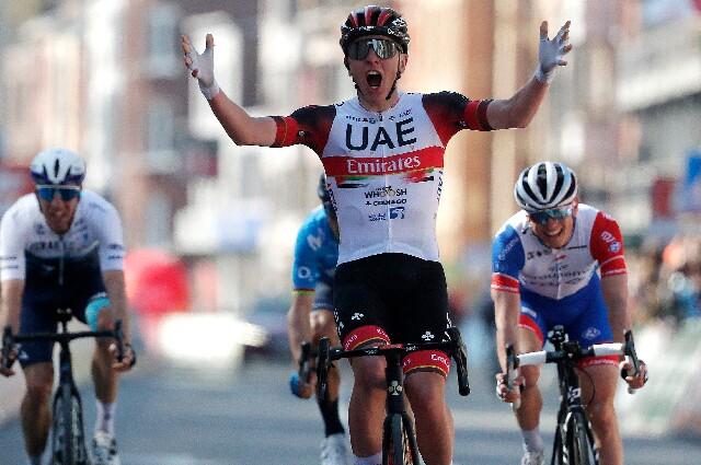 Tadej Pogacar, para el Tour de Francia
