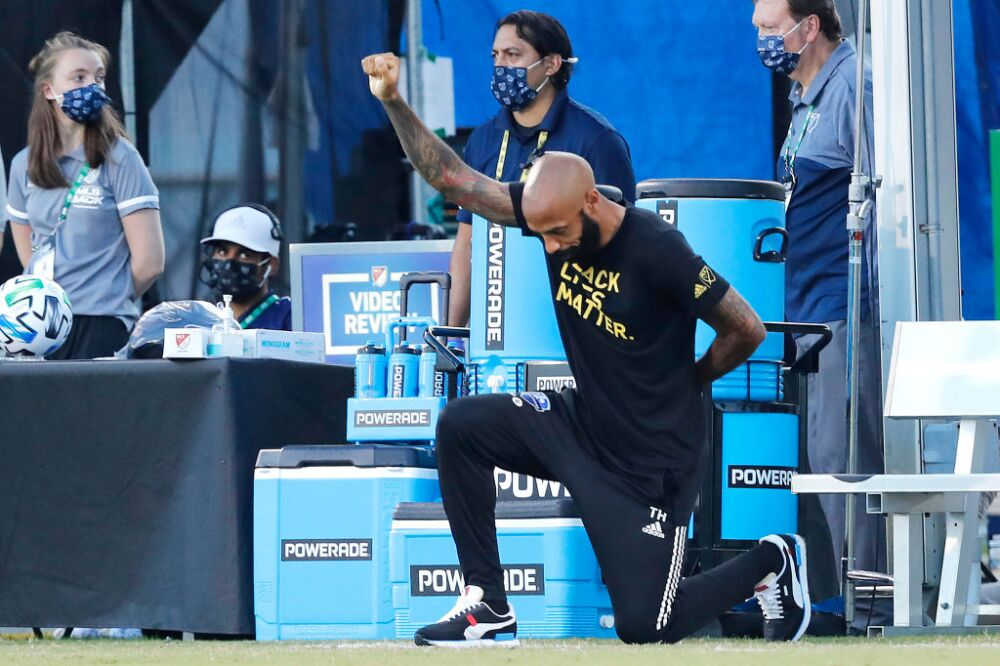 Thierry Henry, técnico Montreal Impact
