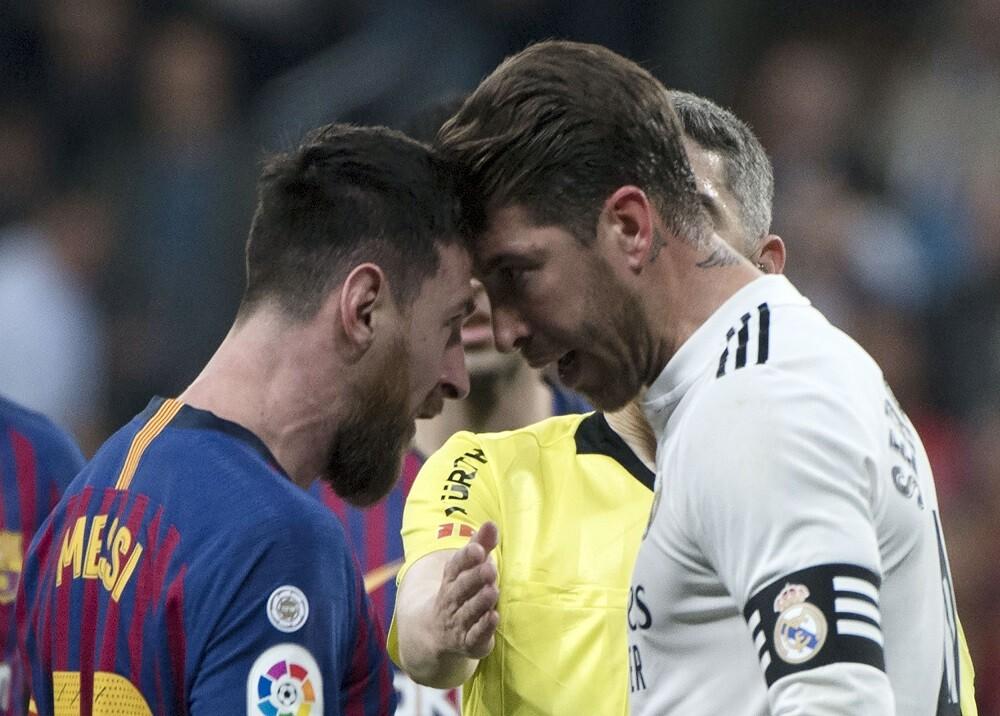 356601_Lionel Messi y Sergio Ramos / Foto: AFP