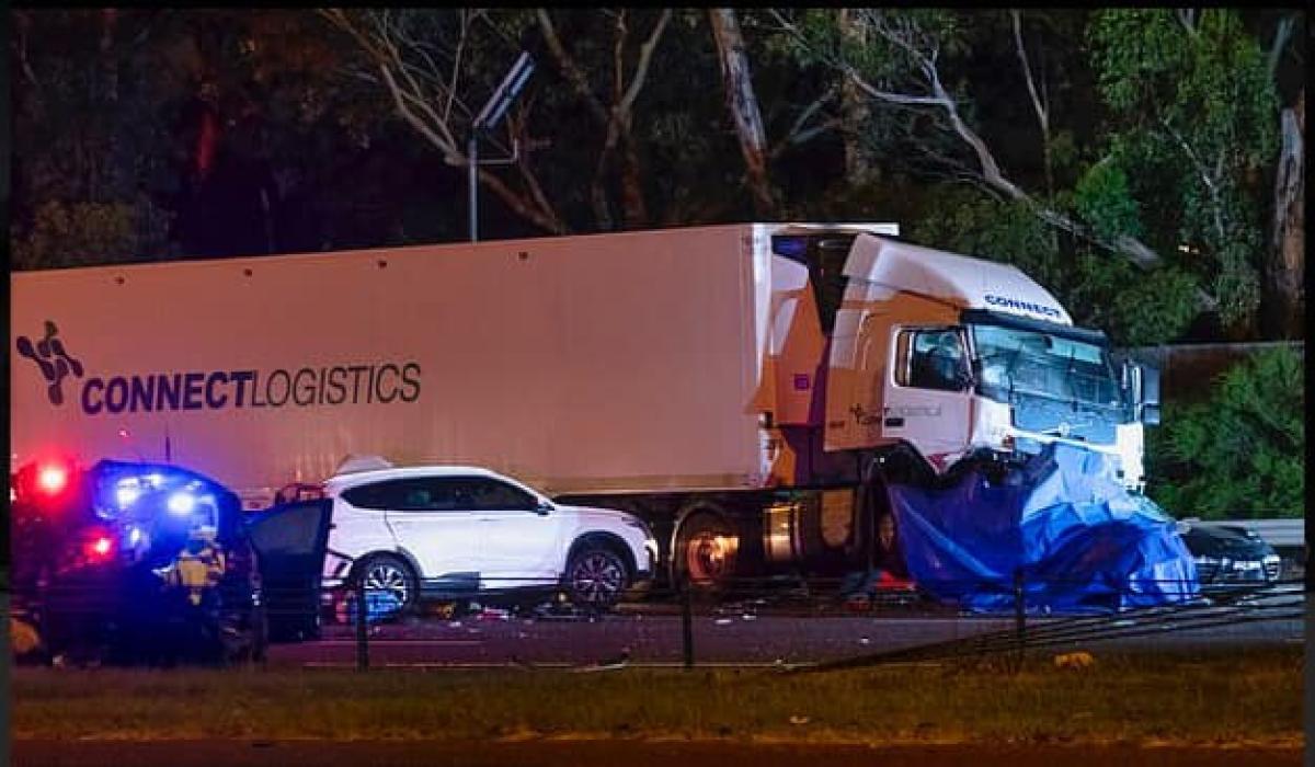 Accidente en Melbourne