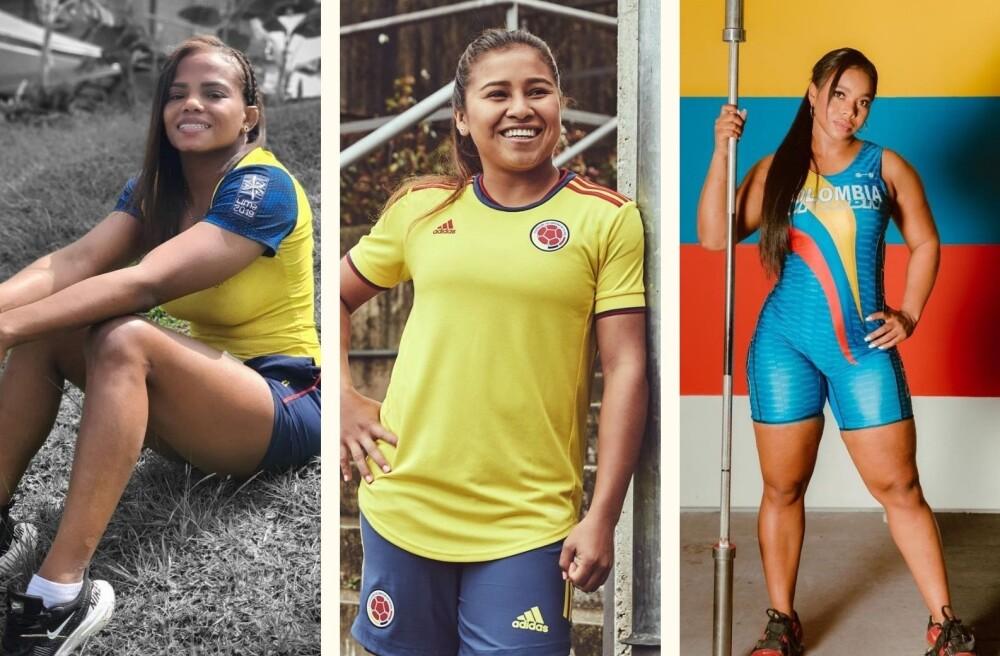 Mujeres en el deporte colombiano.
