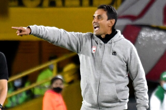 Grigori Méndez, entrenador de Independiente Santa Fe