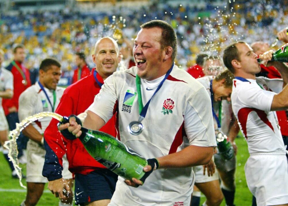 Steve Thompson Campeón del mundo de rugby en 2003 con Inglaterra Foto AFP.jpg