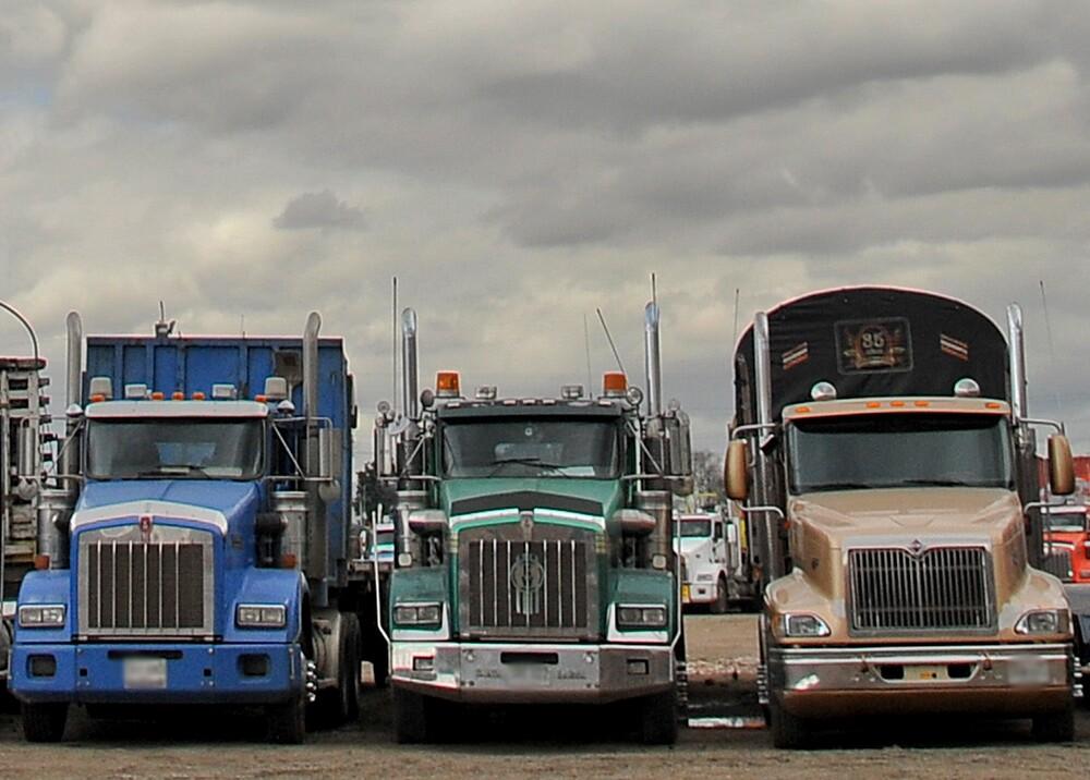 355012_Camiones de carga / Foto: AFP
