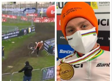Mathieu van der Poel ganó su cuarto título del mundo de ciclocrós.