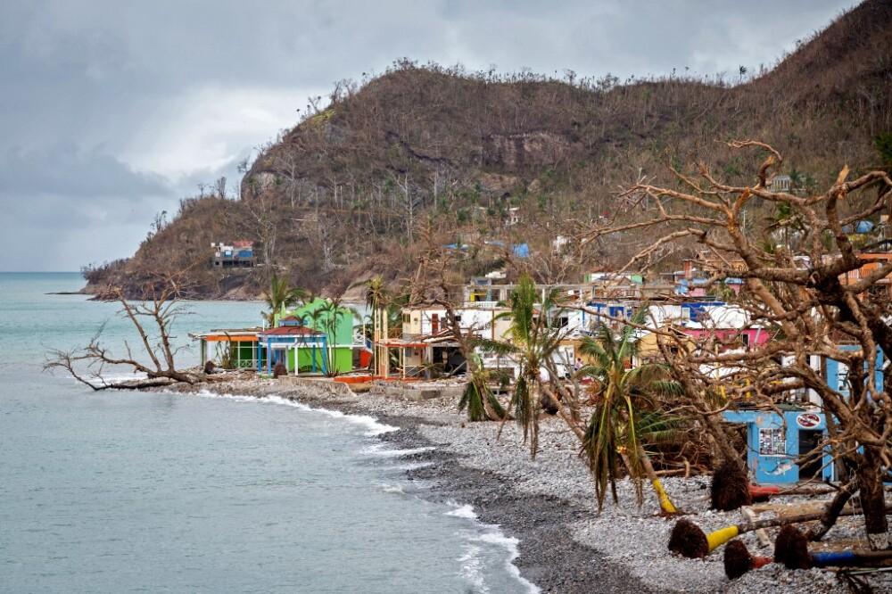 Devastación del huracán Iota en Providencia