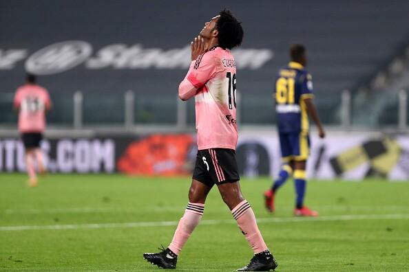 Juan Guillermo Cuadrado Juventus v Hellas Verona FC
