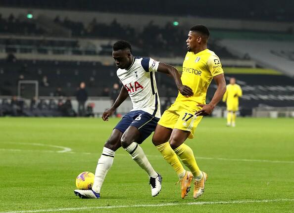 Davinson Sánchez Tottenham vs Fulham