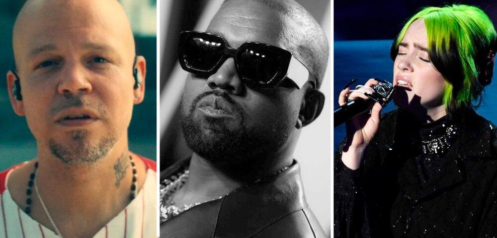 648170_Foto Kanye West: Rich Fury. Foto Billie Eilish: Kevi Winter// Getty Images