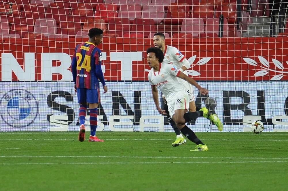 Gol del Sevilla