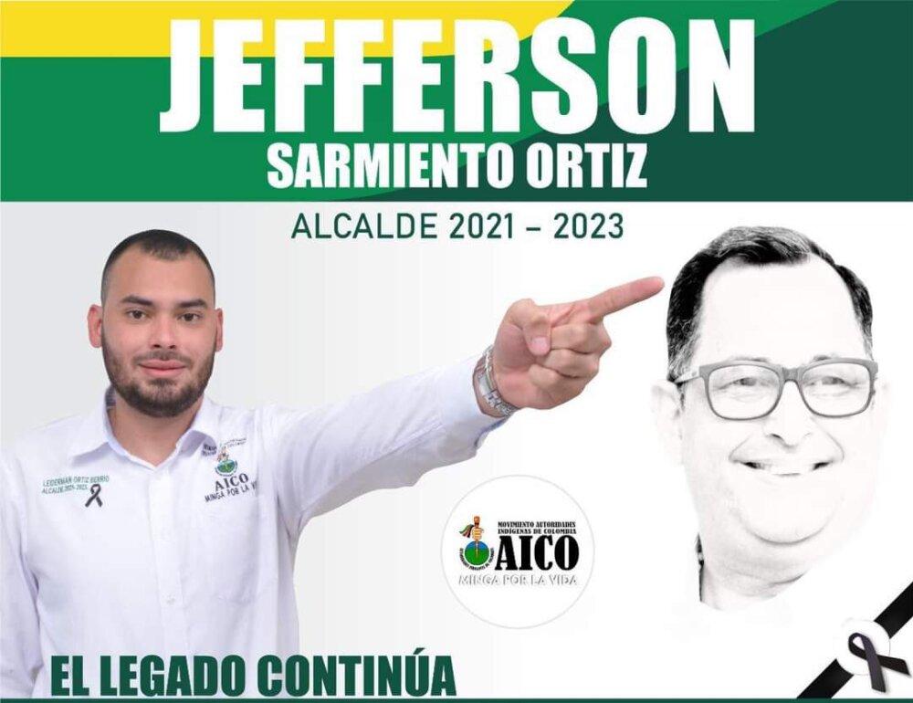 Jefferson Sarmiento Ortiz, alcalde electo de Caucasia, Antioquia