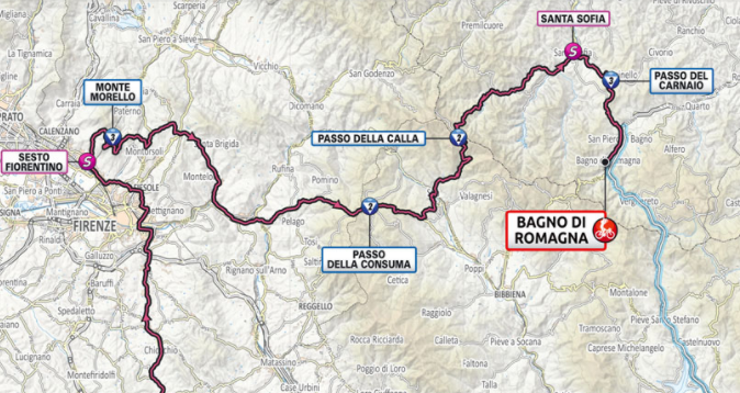Así será la etapa 12 del Giro de Italia 2021.