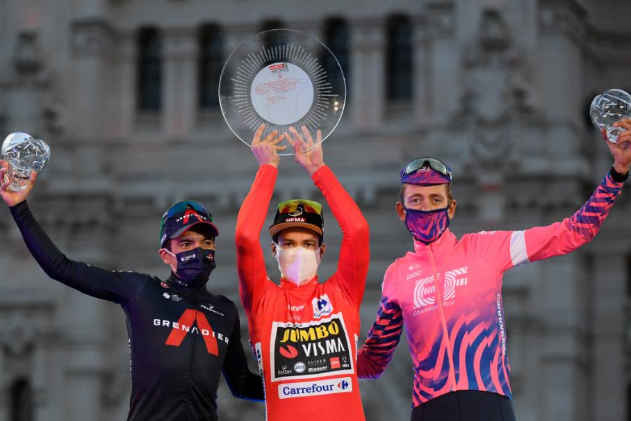 Primoz Roglic fue el campeón de la Vuelta a España 2020.