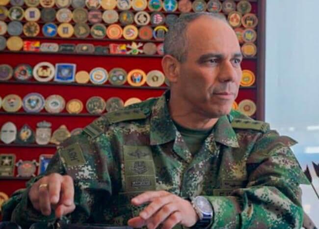 General Eduardo Zapateiro. Foto Twitter Ejército
