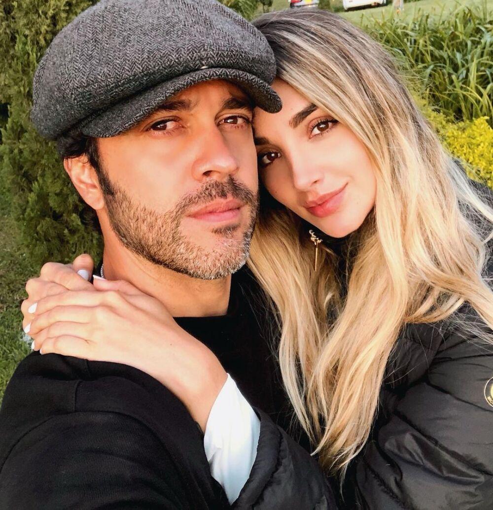 Juan Manuel Mendoza y Melina Ramírez, celebridades colombianas.