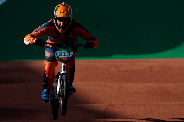 Niek Kimmann, en los Juegos Olímpicos
