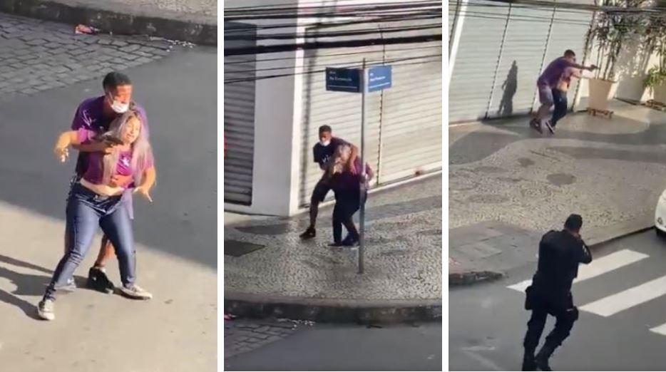 policía mata a ladrón en brasil