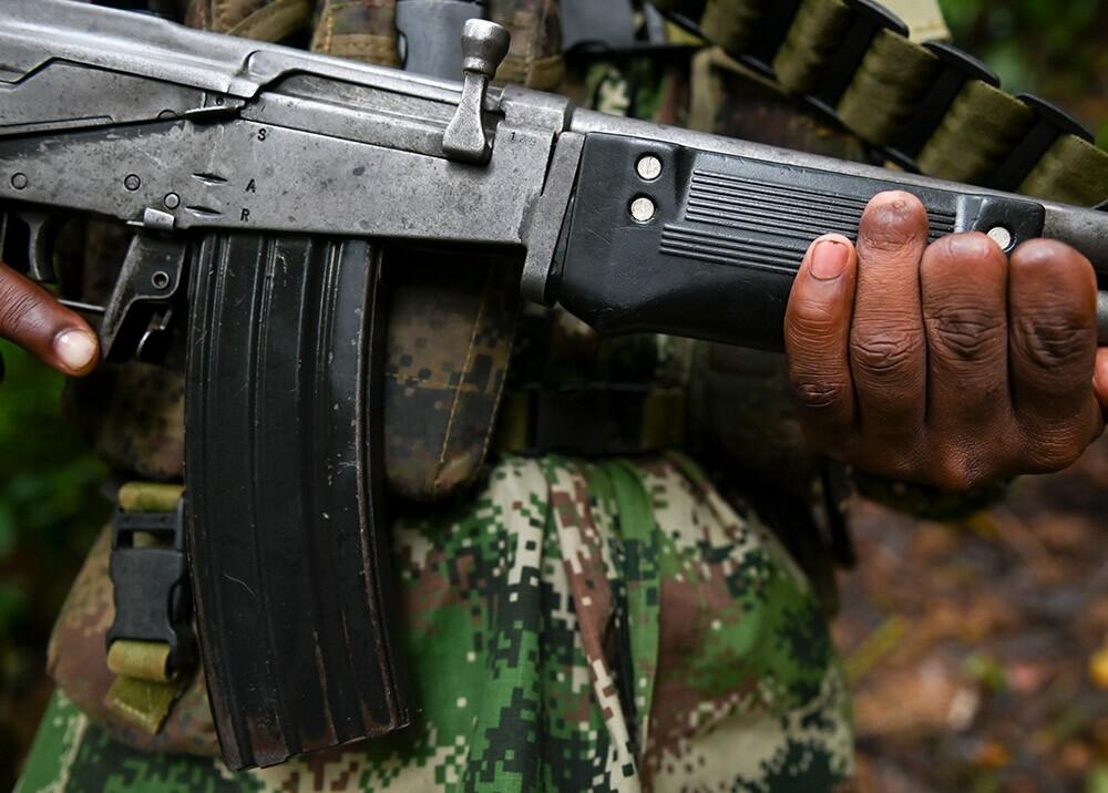 371121_Grupos armados ilegales // Foto: AFP, imagen de referencia