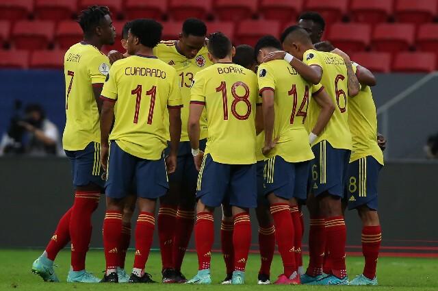 Selección Colombia, contra Argentina