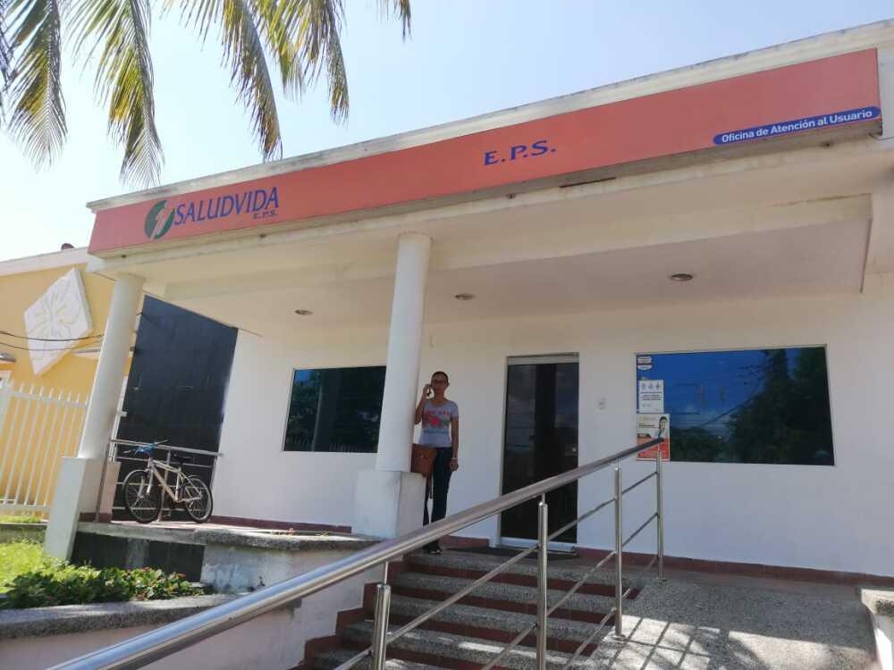 346079_BLU Radio // Sede de la EPS Saludvida en Barranquilla // Foto: BLU Radio