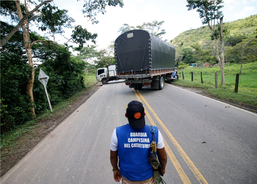 Bloqueos en vías de Colombia Foto AFP.jpg
