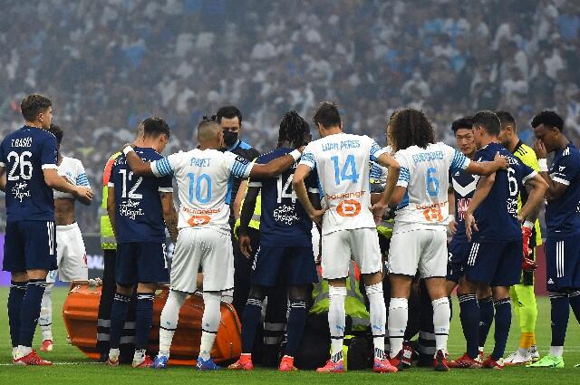 Samuel Kalu, en Olympique de Marsella contra Bordeaux