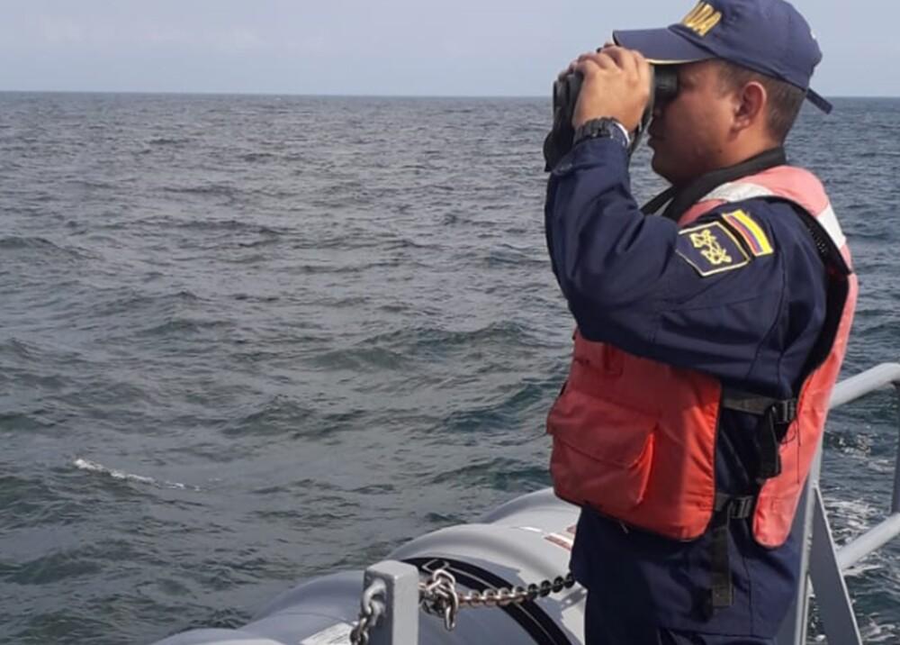 326250_BLU Radio. Rescate de migrantes en Urabá / Foto: Armada
