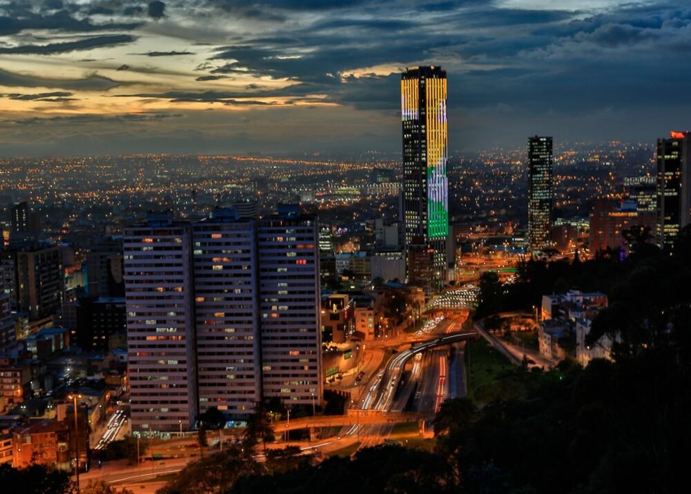 Bogotá, panorámica nocturna // Foto: Alcaldía de Bogotá