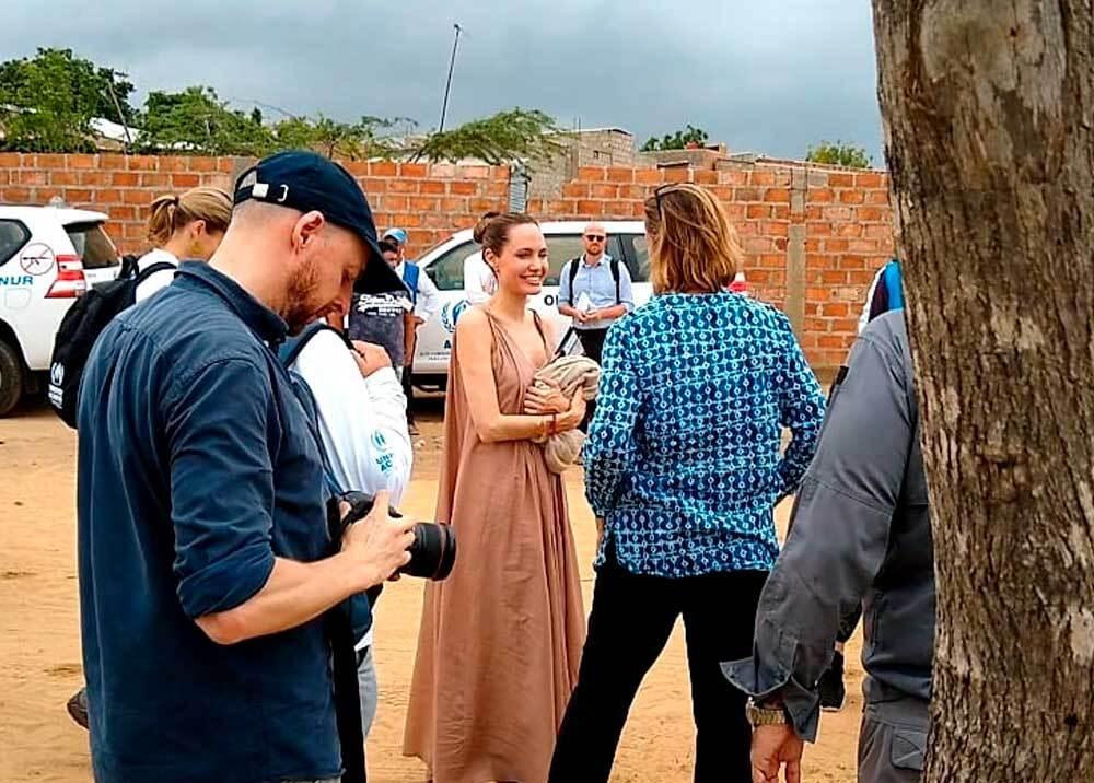 335800_BLU Radio // Angelina Jolie en la frontera colombo venezolana // Foto: suministrada