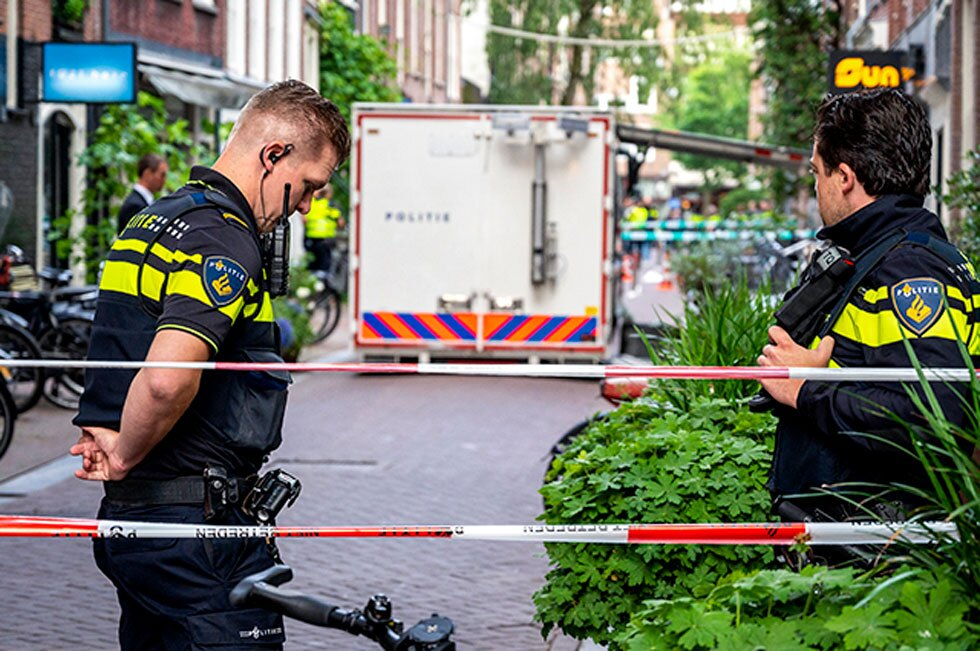 Periodista Peter R. de Vries baleado en Ámsterdam
