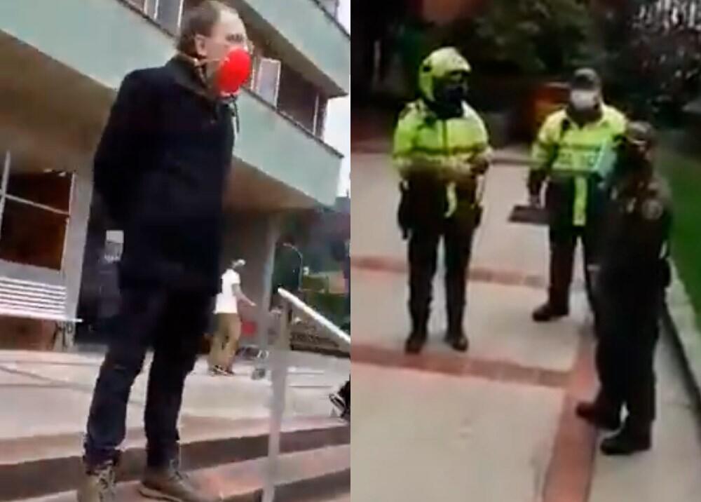 371164_Hombre que devolvió plata que encontró en cajero podría terminar denunciado, dice la Policía // Foto: captura video Twitter @pinedaruizbog
