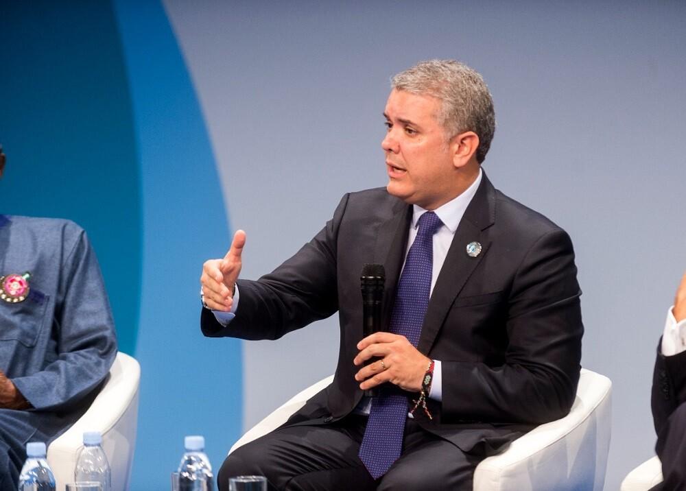 319689_BLU Radio. Iván Duque / Foto: Presidencia