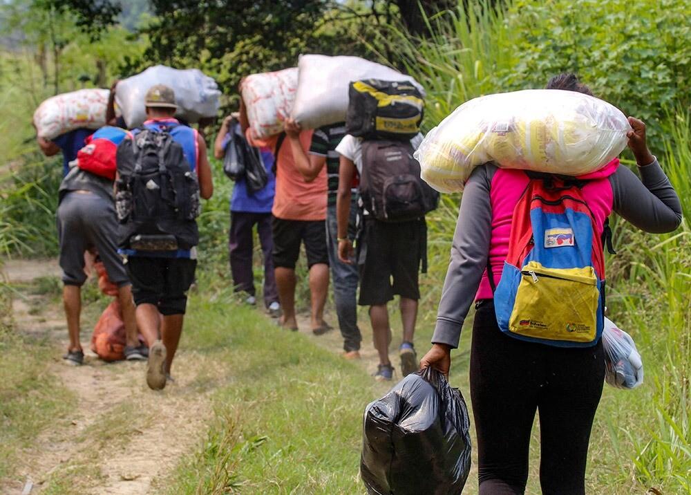 359582_Migrantes venezolanos / Foto: AFP