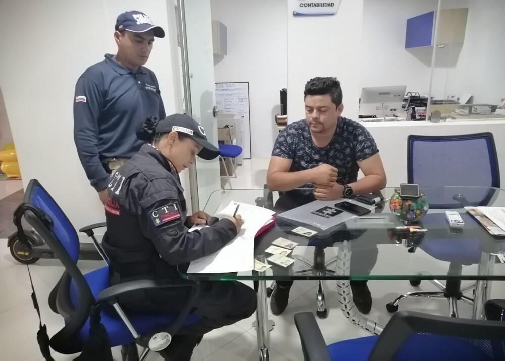 357139_BLU Radio. Capturado expresidente Triatlón / Foto: Migración Colombia