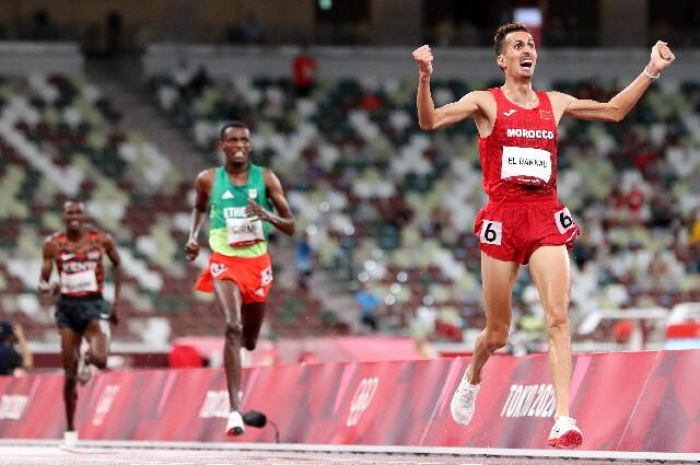 Soufiane El Bakkali, en los Juegos Olímpicos de Tokio 2020