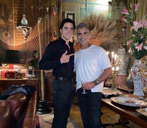 Alex Fernandez y su padre Alejandro Fernandez.JPG