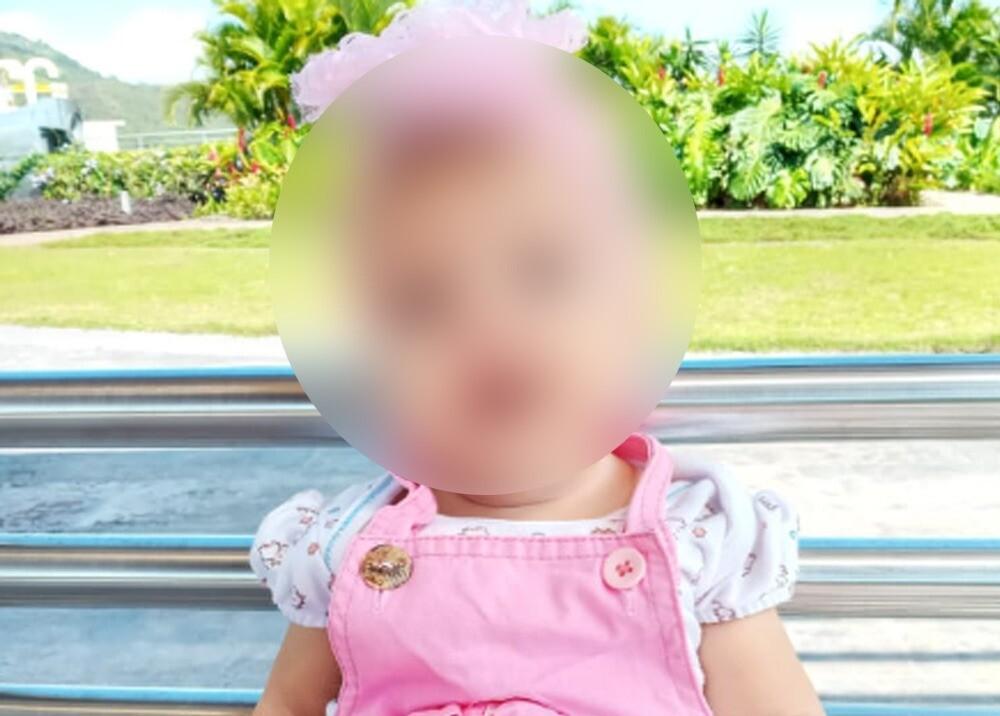 Bebé Emmely Sofía Monsalve Lozano, quien necesita el medicamento con urgencia / Foto: familia