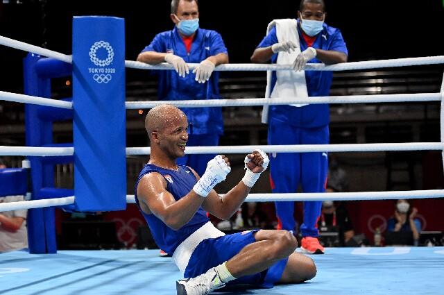 Roniel Iglesias, oro en los Juegos Olímpicos de Tokio 2020