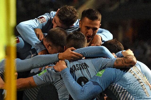 Victoria de Uruguay sobe Bolivia, en Eliminatorias